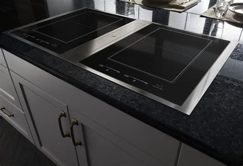 36 Inch Induction Cooktop With Downdraft by Jenn Air 36 Quot Stainless Steel Induction Downdraft Electric