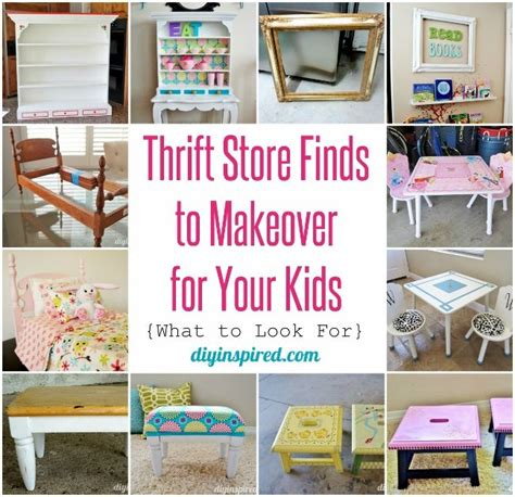 thrift store diy home decor thrift store finds to makeover for your kids thrift