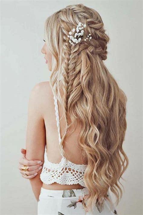peinados en trenzas con pelo largo paperblog 1001 ideas de peinados de novia m 225 s consejos peinados