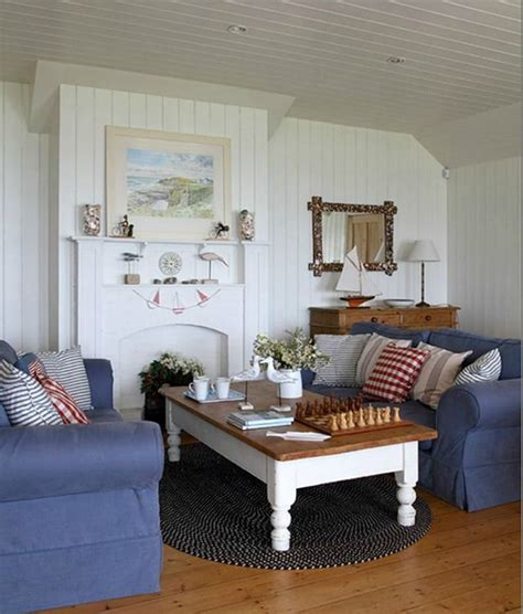two living room sofas cottage living room cottage style living room with denim blue slipcover sofas