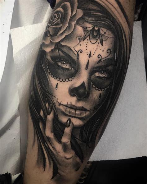 sick couple tattoos sugar skull s sugar skull sugar