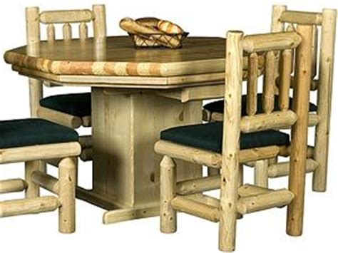 Lodge Style Table Ls 1000 Images About Pine Log Furniture Collection On