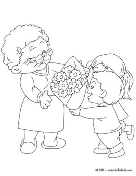 coloring pages i love grandma we love you grandma coloring pages hellokids com