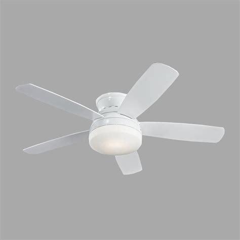 monte carlo traverse ceiling fan monte carlo traverse 52 in white ceiling fan 5tv52whd