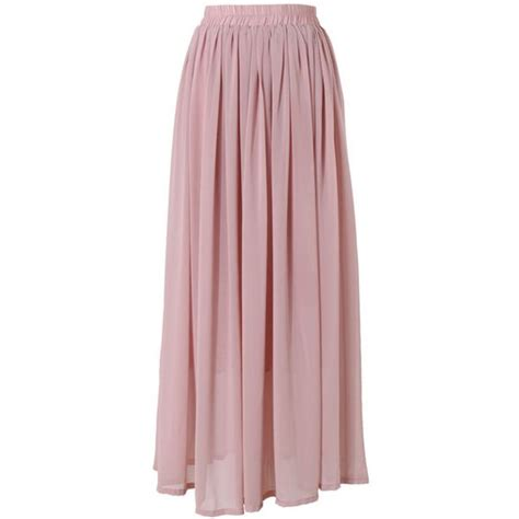 this maxi skirt has been crafted from chiffon fabric