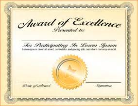 awards certificate template free 8 awards certificate template bookletemplate org