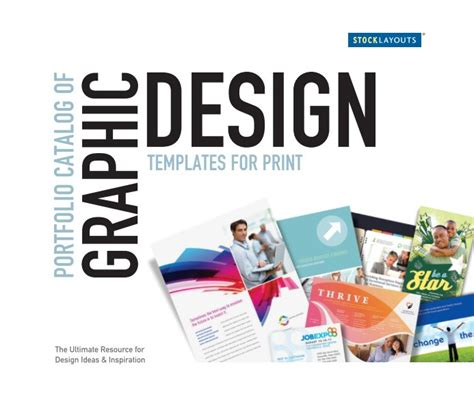 portfolio of graphic design in pdf stocklayouts portfolio catalog of graphic design templates