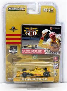 Hunter reay 28 dhl indianapolis 500 winner 1 64 indycar diecast