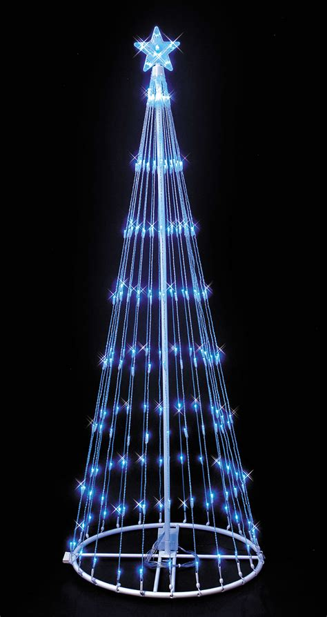 Led Light Tree by Blue Led Lightshow Tree