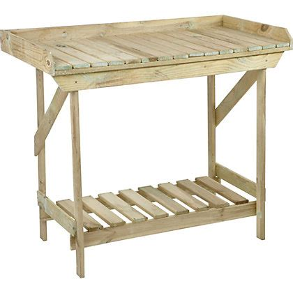 potting benches uk timber potting bench