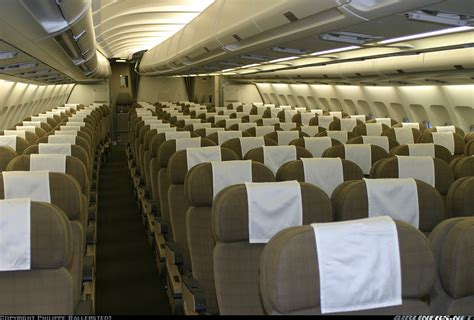 Airbus A340 300 Interior by Airbus A340 313 Swiss International Air Lines Aviation