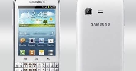 Hp Samsung Galaxy Chat Terbaru samsung galaxy chat harga dan spesifikasi hp android