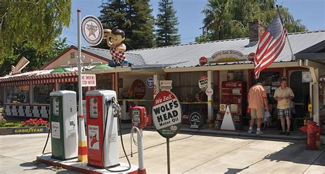 reiff s antique gas station automotive museum located in