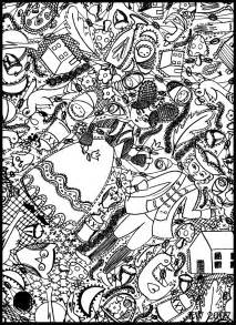 doodle coloring pages free coloring pages of doodle