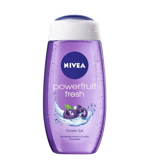 Nivea Shower Gel by Nivea Powerfruit Fresh Shower Gel 500 Ml 257 Mrp 339