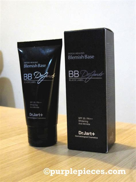 Dr Jart Balm Black Label Detox by Review Dr Jart Black Label Bb