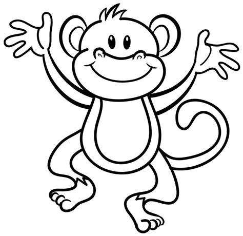 small monkey coloring page desenho de macaco para colorir desenho de macaco para