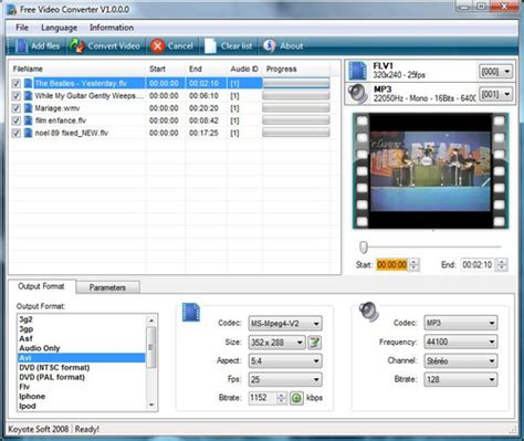 format converter x free download download the latest version of koyote free video converter