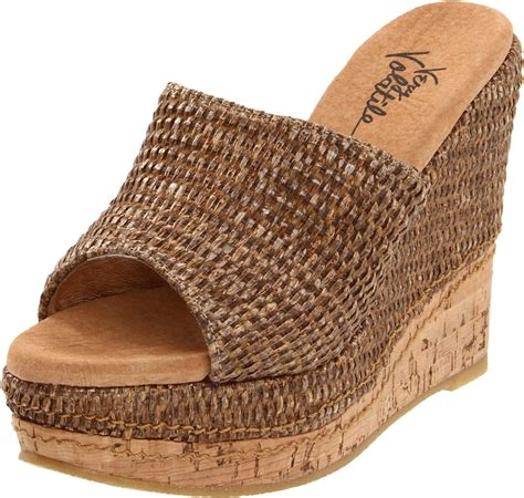 volatile volatile womens hton platform sandal in