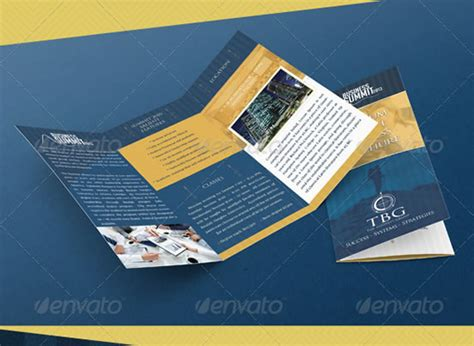 tri fold brochure photoshop template csoforum info