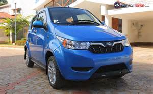 Electric Cars In India 2014 Price Mahindra E2oplus Electric Car Launched In India Prices