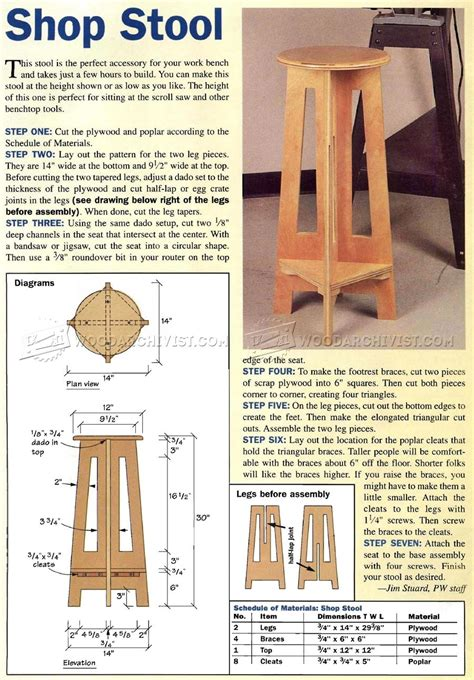 mackintosh furniture techniques shop drawings for 30 designs books simple shop stool plans woodarchivist
