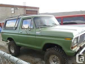 87 Ford F250 1979 Ford Bronco Sell Or For 87 96 F250 4x4