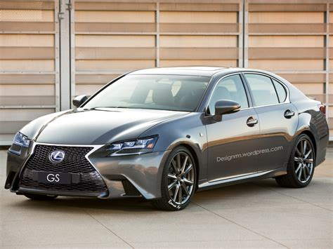 new lexus 2016 2016 lexus gs facelift rendered with new led headlights