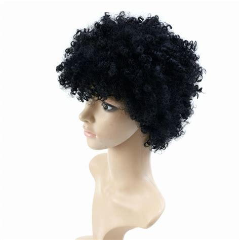 kinky curly short weaves for black woman natural afro wig kinky curly wigs for black women heat