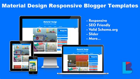 blog layout responsive 10 best responsive material design blogger templates