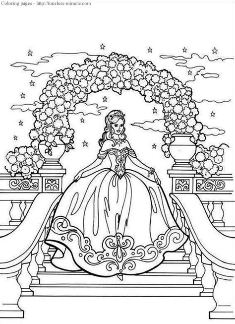 coloring page of a princess castle princess castle coloring page