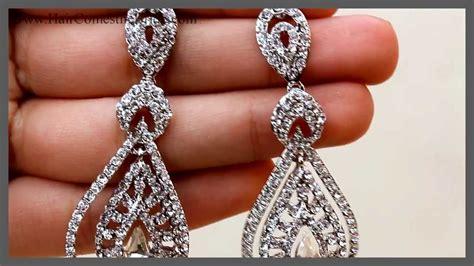 Vintage Bridal Hair Jewellery by Vintage Bridal Earrings Bridal Hair Accessories And