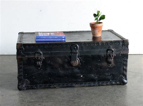 luggage trunks vintage luggage trunk by comod on etsy