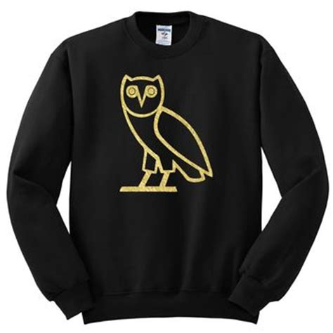 Hoodie Ovo Owl 3 Fightmerch ovo owl inspired by crewneck from sense of custom