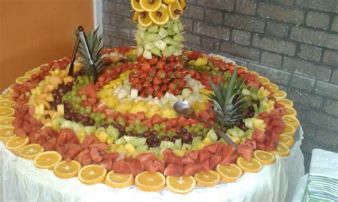 fruit displays for wedding receptions 07795546795 or