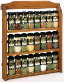 Spice Rack And Spices Spice Jars Homes And Garden Journal