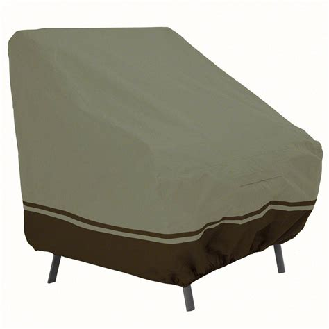 Patio Chair Cover Patio Cover High Back Chair In Patio Furniture Covers