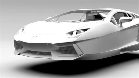 Lamborghini Flying Lamborghini Aventador Flying 2017 3d Model Vehicles 3d