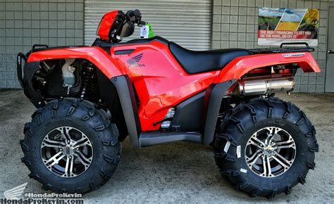 12 vs 14 rims honda foreman forums rubicon rincon rancher and hondapro kevin 2016 honda foreman rubicon 500 itp