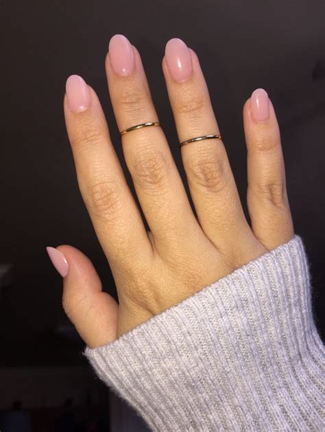 pintrest wide best 25 pink oval nails ideas on pinterest oval nails