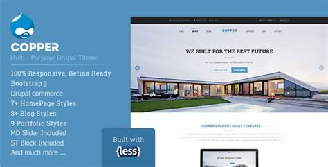 drupal themes best 2014 10 best responsive drupal corporate themes 2018