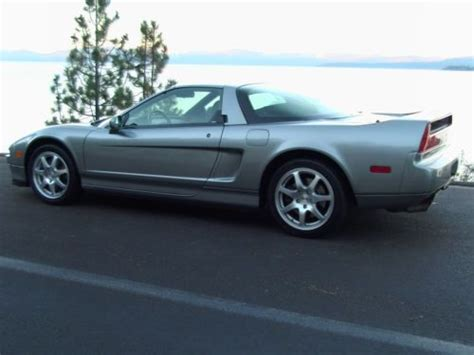 purchase used 1998 acura nsx t convertible 6 speed manual transmission low mileage in incline