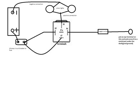 wiring diagram for peterson snow plow lights efcaviation