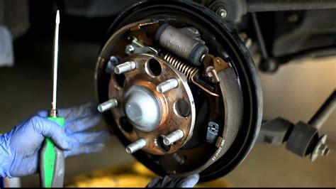 2003 2007 honda accord brake drums clean and adjust