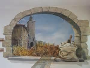 fresque en trompe l oeil pour une boulangerie fresques