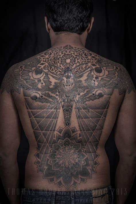 mandala tattoo back hooper tattooing 171 hoopers electric meditations
