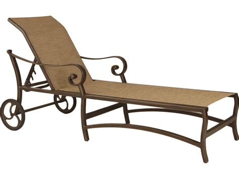 sling chaise lounge chairs with wheels castelle veracruz sling cast aluminum adjustable chaise