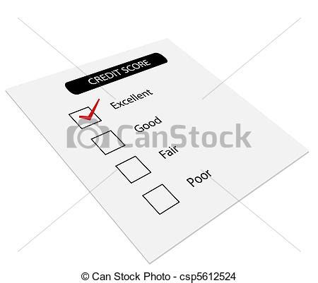 doodle free credit report drawing of credit score concept of credit score for
