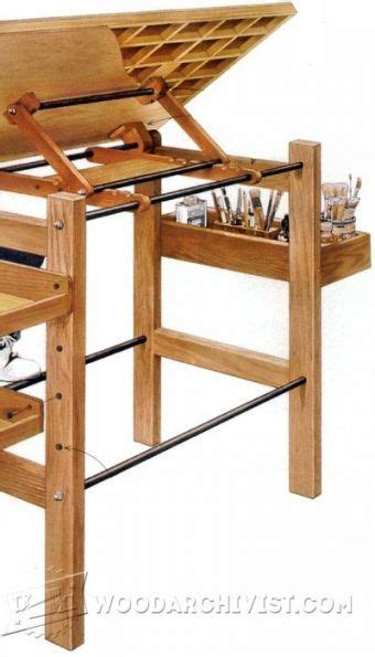 cool woodworking plans best 25 portable drafting table ideas on