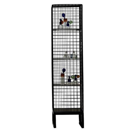 wire mesh for cabinets narrow wire mesh cabinet in black by out there interiors